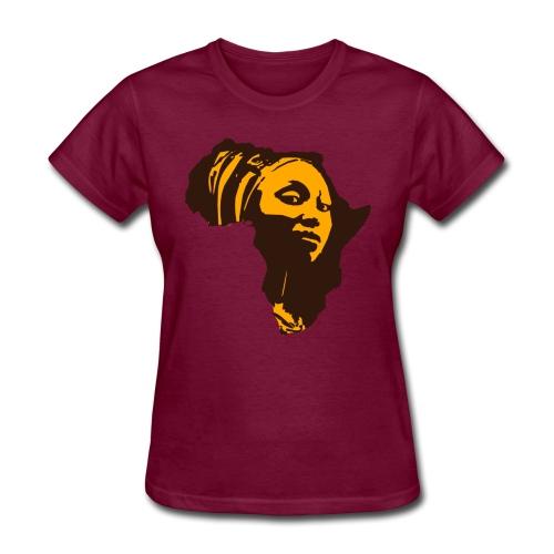 Original Kulture Mama Afrika Print - Women's T-Shirt
