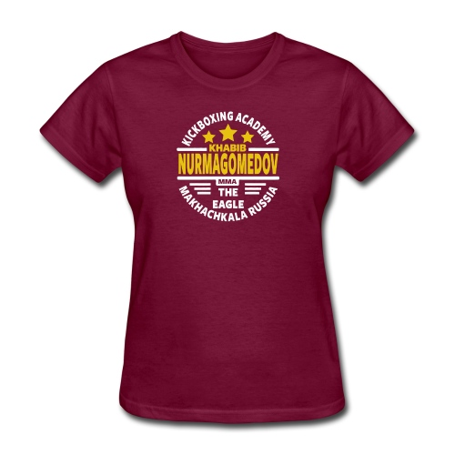 Khabib Numargomedov MMA the eagle - Women's T-Shirt