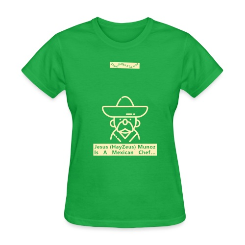 Mexican-Chef-Shirt-Front - Women's T-Shirt