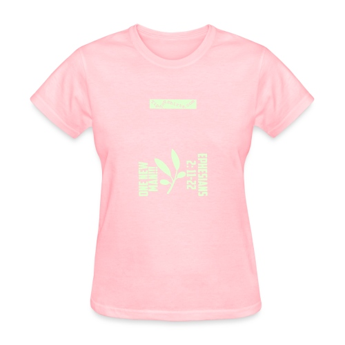ONE-NEW-MAN-Shirt-Front - Women's T-Shirt