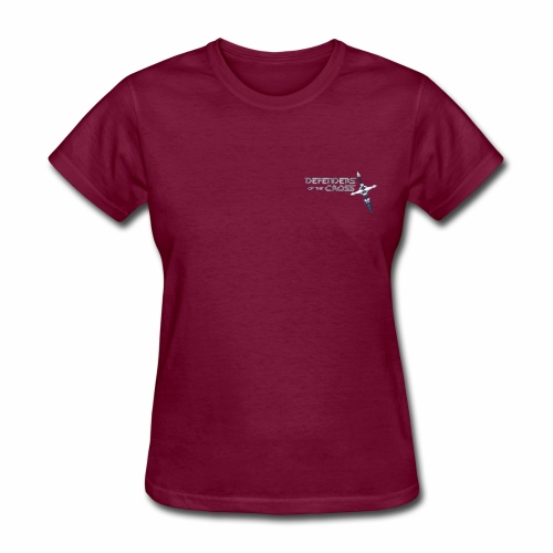 Defenders of the Cross Pocket Logo - Women's T-Shirt