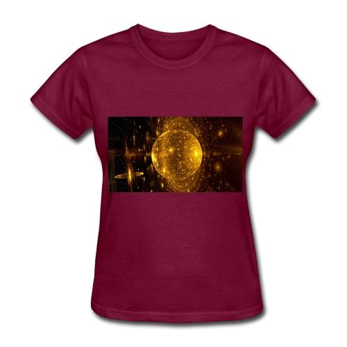 Golden Planet - Women's T-Shirt