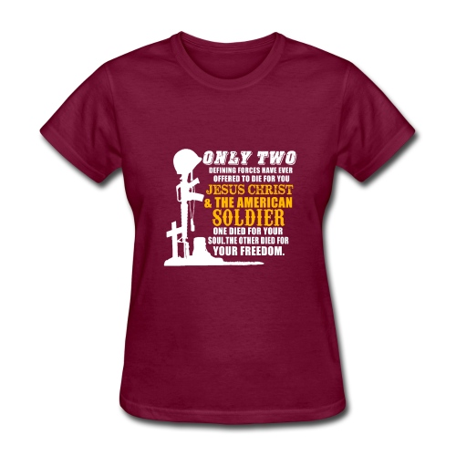 ARMY JESUS - Women's T-Shirt