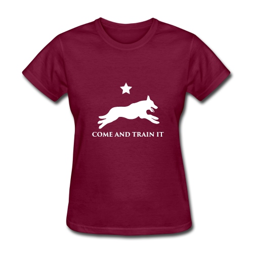 Come And Train It K9 - Women's T-Shirt