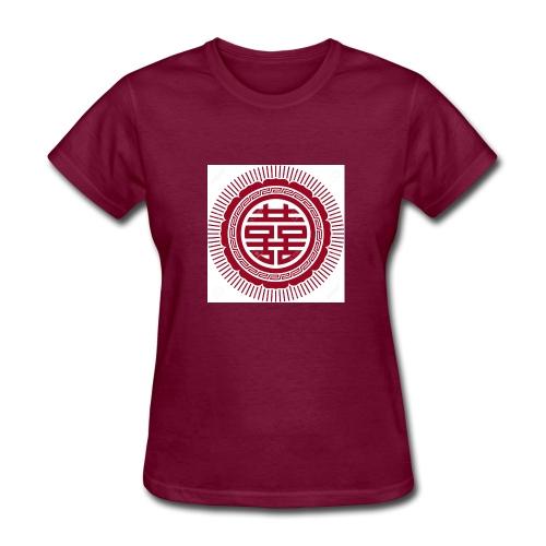 si mbolo de doble felicidad - Women's T-Shirt