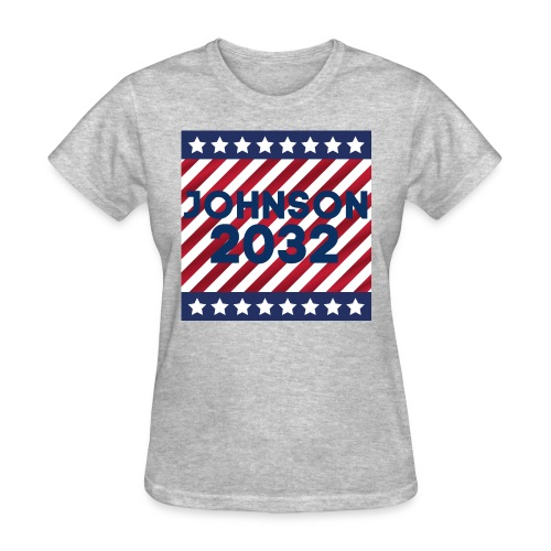 JOHNSON 2032 Stars And Stripes - Women's T-Shirt