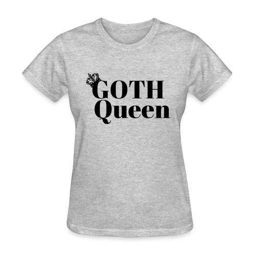 Goth LARGE BLACK - Women's T-Shirt