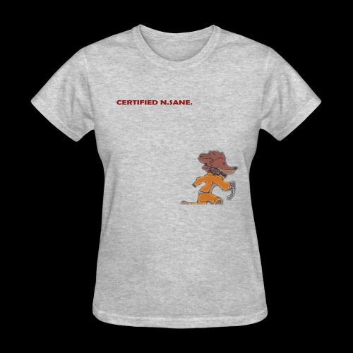 Free Bandicoot (Certified N.Sane). - Women's T-Shirt