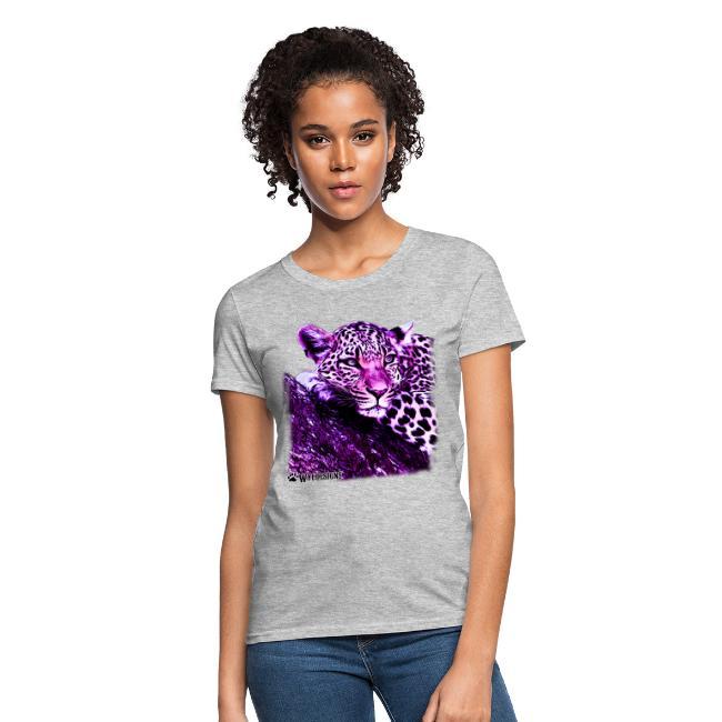 Leopard Cutout Purple