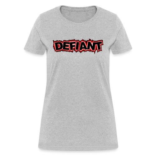New Defiant Logo gif - Women's T-Shirt