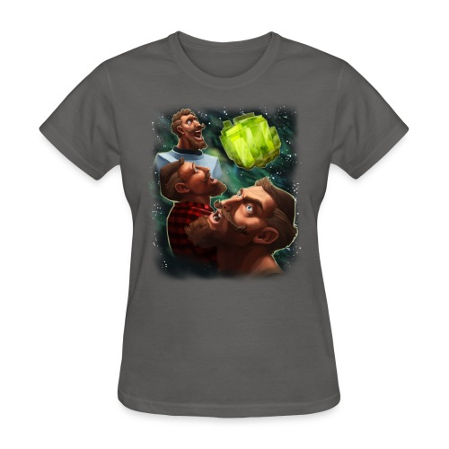 three sjin ranium transparentbk png - Women's T-Shirt
