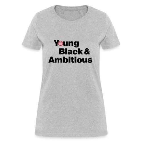 YBA white and gray shirt - Women's T-Shirt