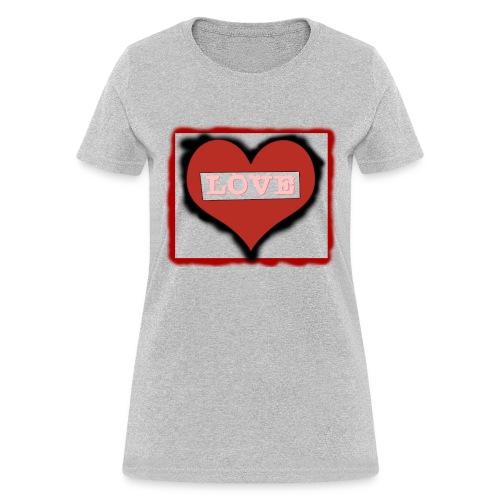 Love T shirt Digital Version png - Women's T-Shirt