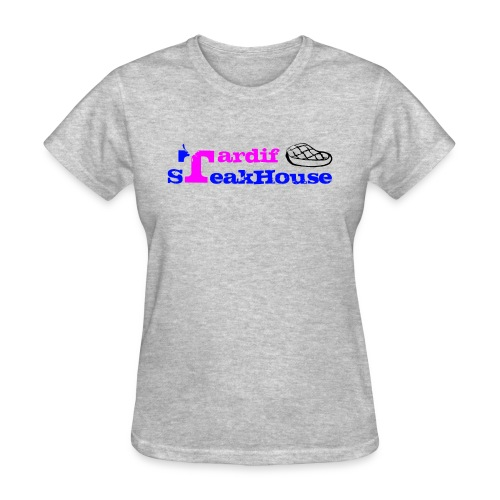 Tardif SteakHouse Blue Pink - Women's T-Shirt