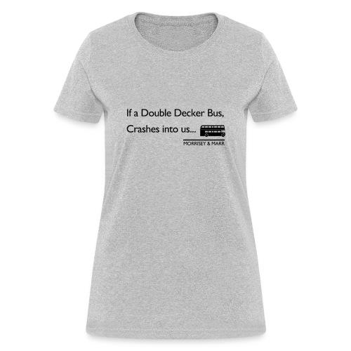 Double Decker Bus - Women's T-Shirt