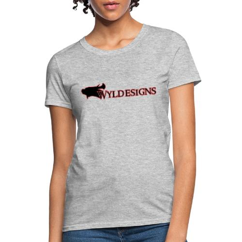 Wyldesigns Logo - Women's T-Shirt