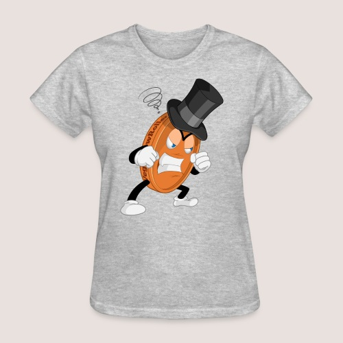 THE ANGRY PENNY - Women's T-Shirt