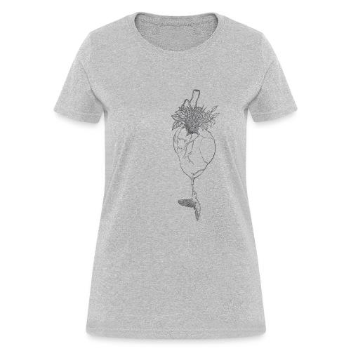 hummingbirdheart - Women's T-Shirt