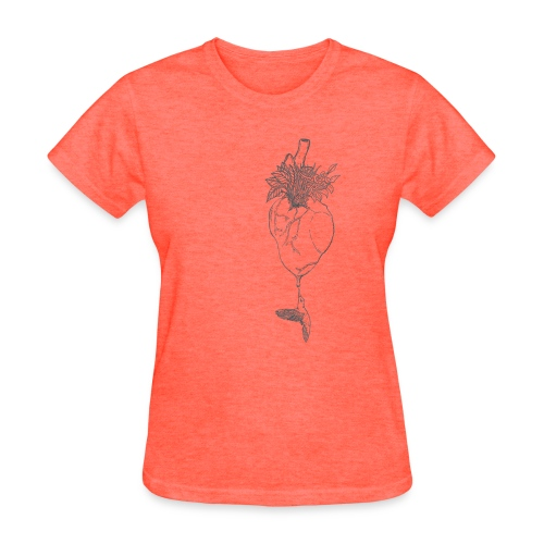 hummingbirdheart - Women's T-Shirt