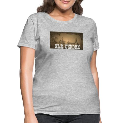 War Unicorn - Women's T-Shirt