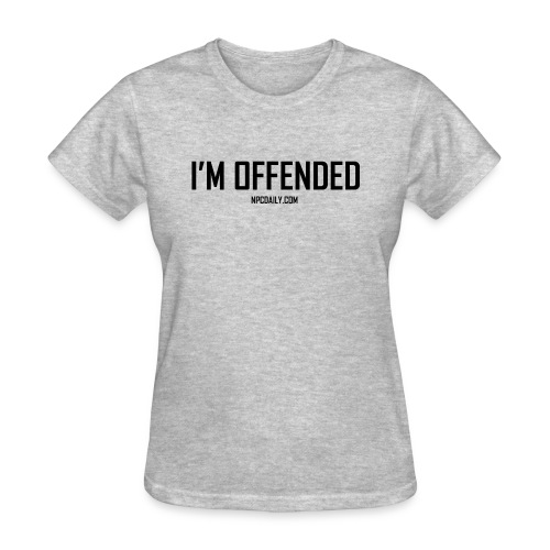 I m Offended but in Dark - Women's T-Shirt