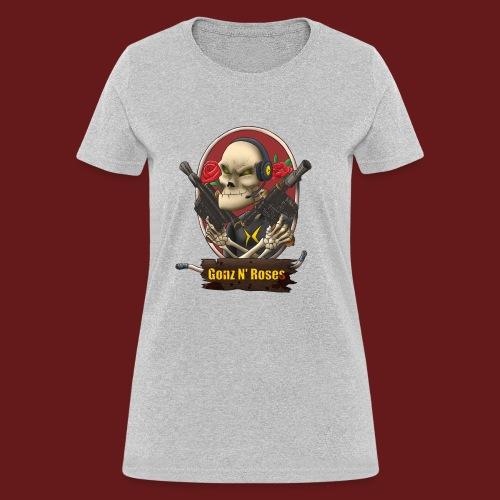 Gonz and Roses t shirt - Women's T-Shirt