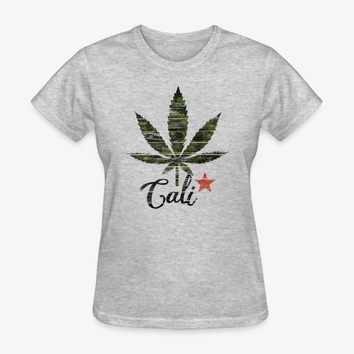 CaliStar.png - Women's T-Shirt