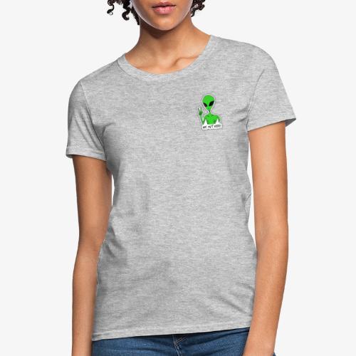 GREEN ALIEN - Women's T-Shirt