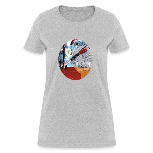US circle 2 - Women's T-Shirt