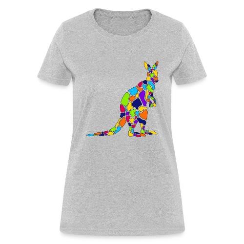 Art Deco kangaroo - Women's T-Shirt