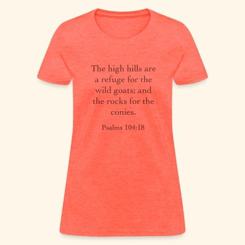 High Hills KJV - Women's T-Shirt