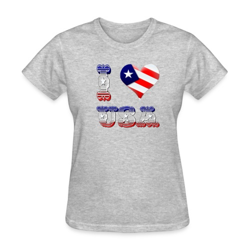 I Love USA - Women's T-Shirt