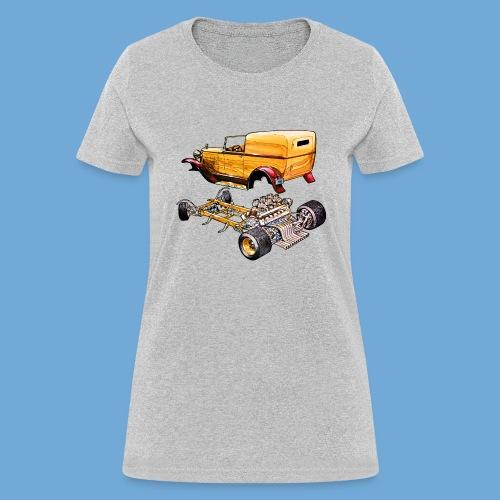 Hot rod body on frame - Women's T-Shirt
