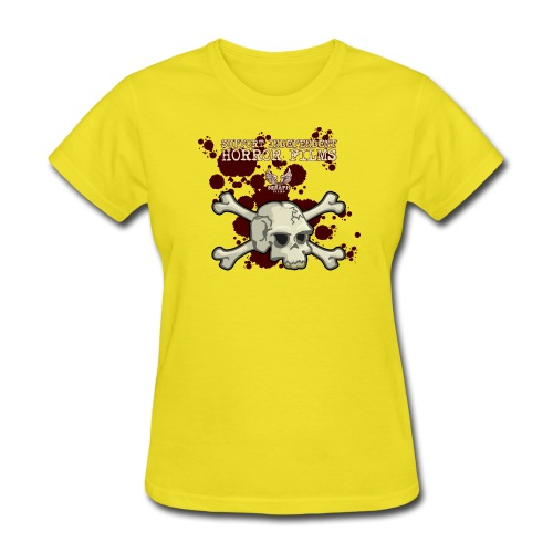Support Indie Horror png - Women's T-Shirt