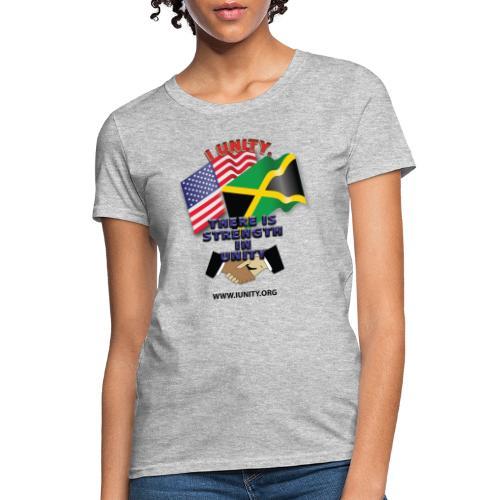 Jamaican flagE01 - Women's T-Shirt