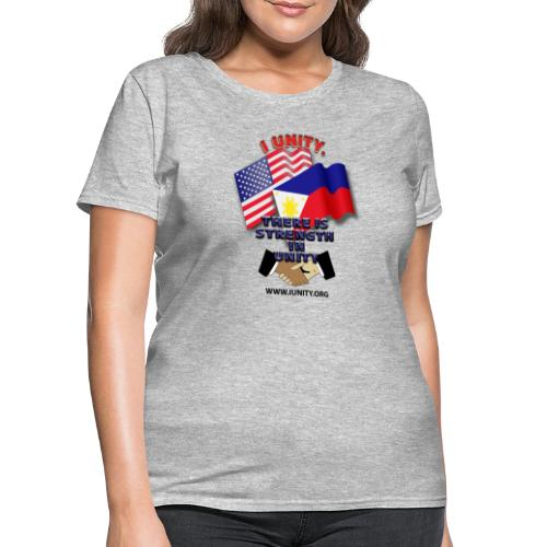UnityPhilippinoUSA E02 - Women's T-Shirt