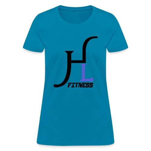 HIIT Life Fitness Logo Purple - Women's T-Shirt