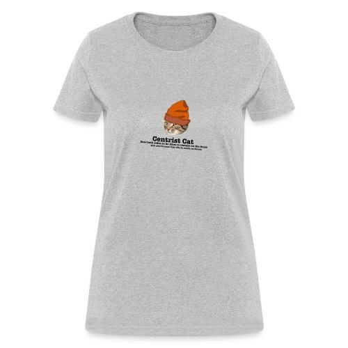 Hipster Centrist Cat - Women's T-Shirt