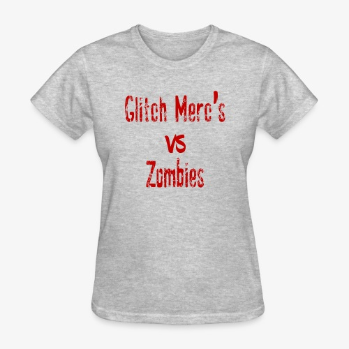glitch zombie red - Women's T-Shirt