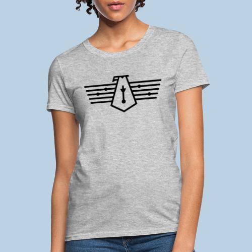 Westport Bird black on transparent - Women's T-Shirt