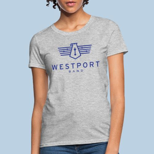 Westport Band Blue on transparent - Women's T-Shirt