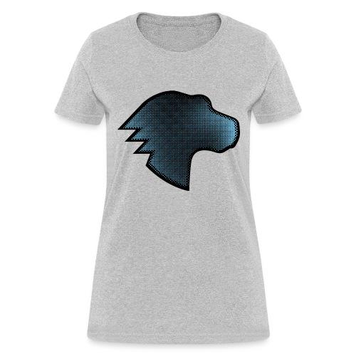 Dino Gradient - Women's T-Shirt