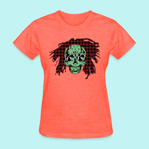 BOB MARLEY SKULLY - Women's T-Shirt