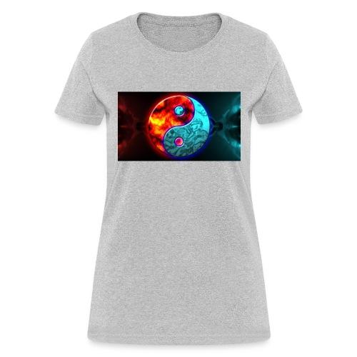 YIN N YANG - Women's T-Shirt