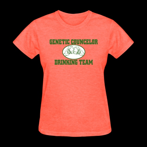 genetic counselor drinking team - Women's T-Shirt