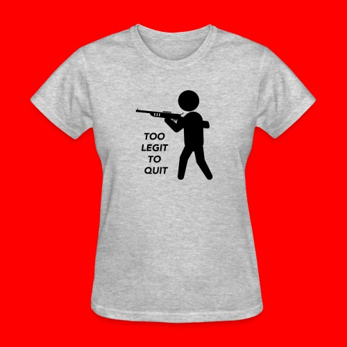 OxyGang: Too Legit To Quit Products - Women's T-Shirt