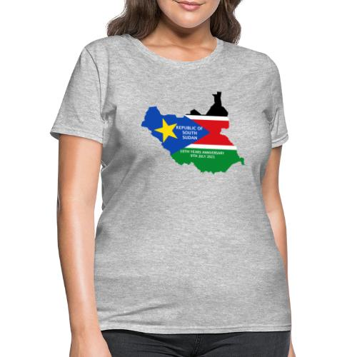 south sudan 10th years anniversary - Women's T-Shirt