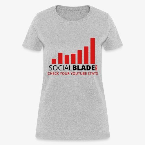 Traditional Logo Tagline - Women's T-Shirt