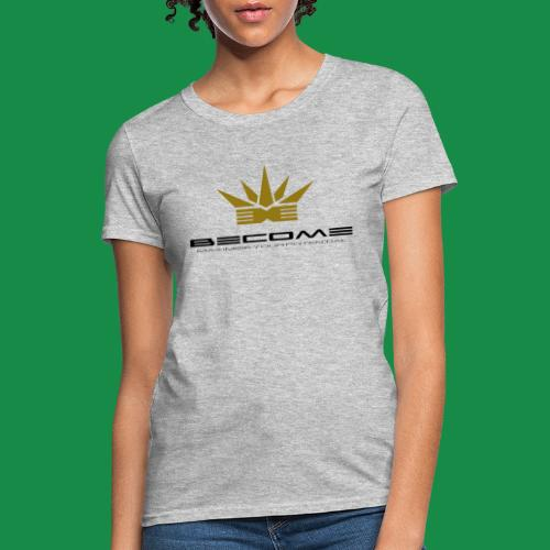 makare BLACK w Gold crown - Women's T-Shirt