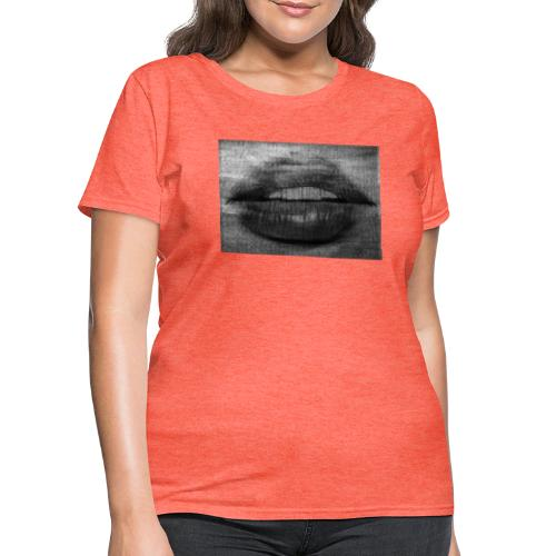 Blurry Lips - Women's T-Shirt